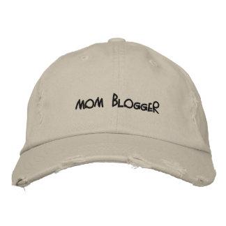 Mamma-Blogger beunruhigter Hut