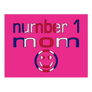 Mamma der Nr.-1 (der Geburtstag der Mammas u. der Postkarte