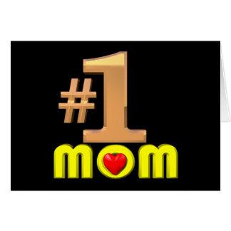 Mamma der Nr.-eine Karte