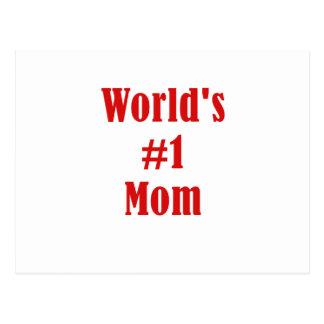 Mamma der Weltzahl-eine Postkarte