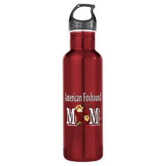 Mamma des amerikanischen Foxhound Trinkflasche
