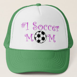 Mamma des Fußball-#1 Truckerkappe