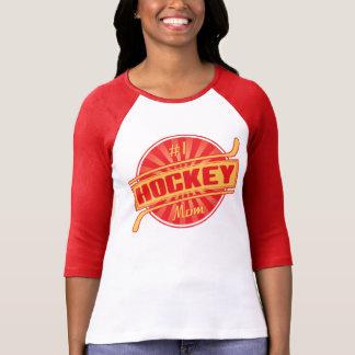 Mamma des Hockey-#1 T-Shirt