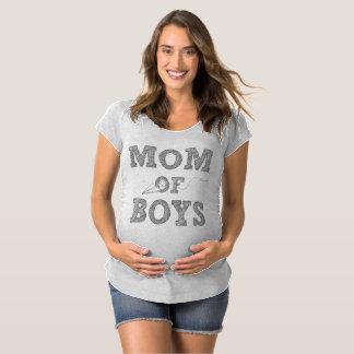 Mamma des Jungen-Mutterschafts-T - Shirt