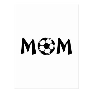 Mamma-Fußball Postkarte