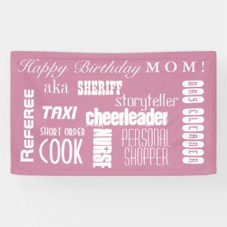 Mamma-Geburtstag Banner
