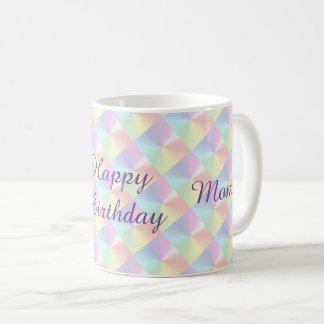 Mamma-Geburtstags-Diamant-Schimmer-Tasse durch Tasse