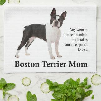 Mamma-Geschirrtuch Bostons Terrier Handtuch