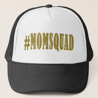 Mamma-Gruppe #momsquad Fernlastfahrer-Hut Truckerkappe