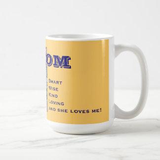 Mamma-intelligentes kluges nett Lieben sie Lieben Tasse