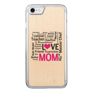 Mamma ist Liebe - der Tag der Mutter oder der Carved iPhone 7 Hülle