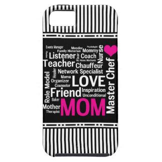 Mamma ist Liebe Geschenk die der Mutter Tagesfür iPhone 5 Schutzhülle
