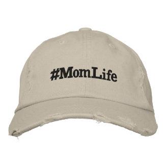 Mamma-Leben Bestickte Baseballkappe