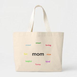 Mamma, liebend, Art, Bonbon, hilfreich, Spaß, nett Einkaufstaschen