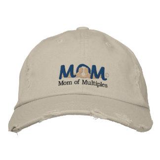 Mamma M-O-M2 der Mehrfachverbindungsstellen Bestickte Kappe