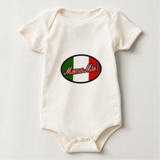 Mamma Mia! Baby Strampler