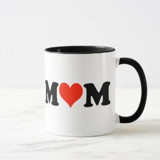 Mamma mit Herzen Tasse