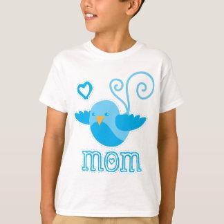 Mamma niedliches birdy T-Shirt