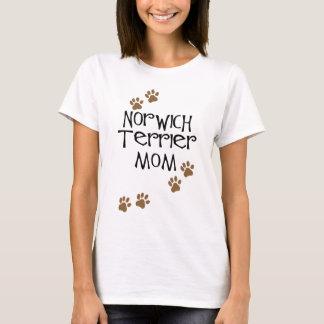 Mamma Norwichs Terrier für Hundemammen Norwichs T-Shirt