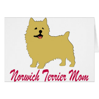 Mamma Norwichs Terrier Karte