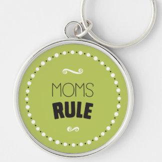 Mamma-Regel Keychain - Editable Hintergrund Schlüsselanhänger