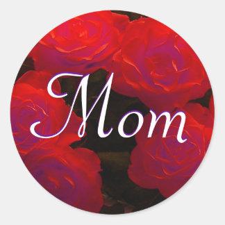 Mamma-Rosen-Aufkleber