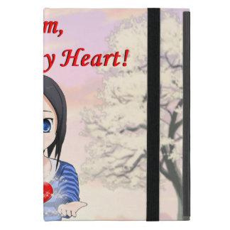 Mamma, sind Sie mein Herz (kundengerecht) iPad Mini Etuis
