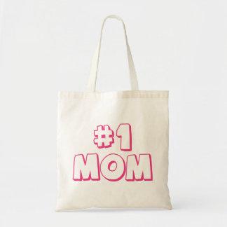 Mamma-Taschentasche der Mamma-#1 der Zahl-eine Einkaufstaschen