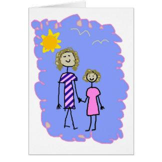 Mamma und ich, Mutter-Tochter-Weg Karte