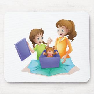 Mamma und Kind Mauspad