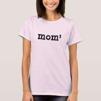 Mamma von 3 Kindern zu 3. Mathe der Power-Mutter T-Shirt