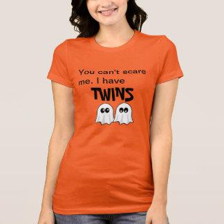 Mamma von Zwillings-Halloween-Shirt T-Shirt