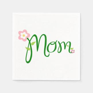 Mamma-weiße Standardcocktail-Serviette Papierserviette