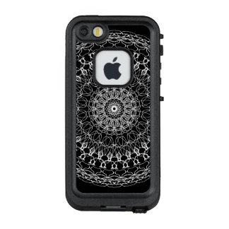 Mamma-weißes Schönheits-Farbrad LifeProof FRÄ' iPhone SE/5/5s Hülle