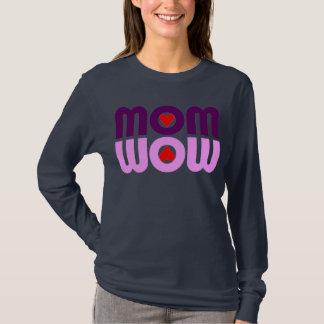 MAMMA wow Herz-Reflexion T-Shirt