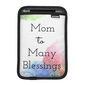 Mamma zu vielem Segen iPad Mini Sleeve