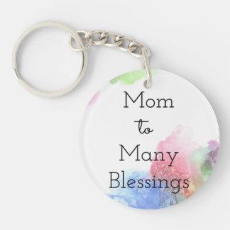 Mamma zu vielem Segen Schlüsselanhänger