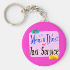 Mammen Tischgast und Taxi-Service-lustiges Sprichw Schlüsselanhänger