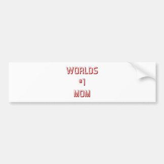 Mammen und Mütter (7-9) Autoaufkleber