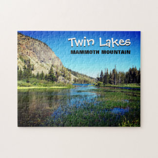 Mammoth Mountain Doppelsee-Puzzlespiel Puzzle
