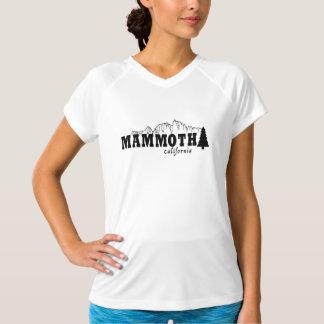 Mammut, CA - Sport-Tek Leistung angepasster V-Hals T-Shirt