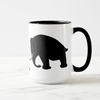 Mammut-Geburtstag Tasse