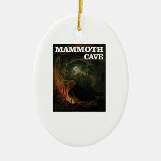 Mammuthöhlenbraun Keramik Ornament