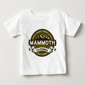 MammutMtn Olive Baby T-shirt