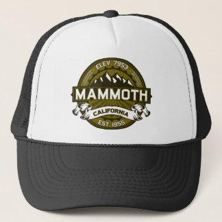 MammutMtn Olive Truckerkappe