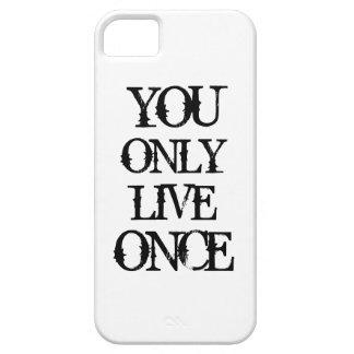 Man lebt nur einmal etui fürs iPhone 5