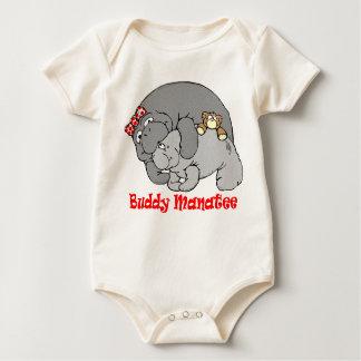 Manatis-Kuss-Baby-Lagerschwelle Baby Strampler