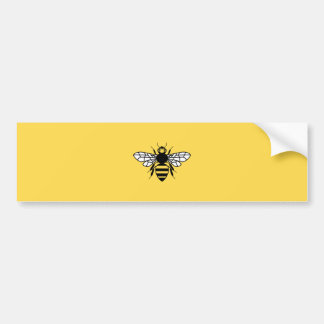 Manchester-Biene Autoaufkleber