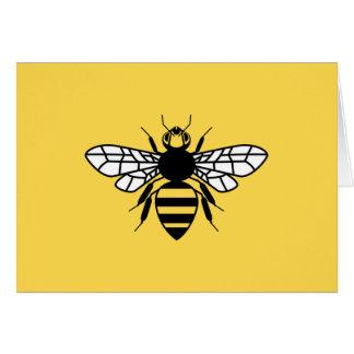 Manchester-Biene Karte