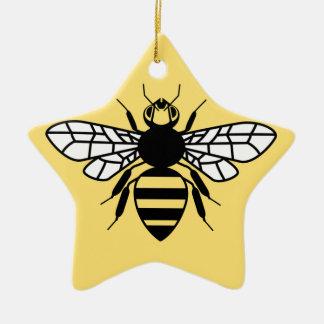 Manchester-Biene Keramik Ornament